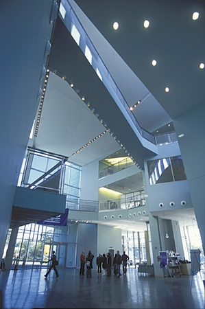 Shapiro Campus Center atrium.